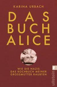 Cover Urbach Das Buch Alice Taschenbuch
