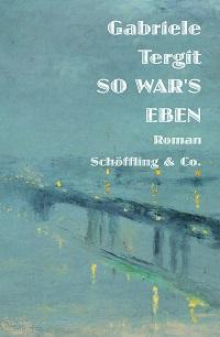 Cover Tergit_So_wars_eben